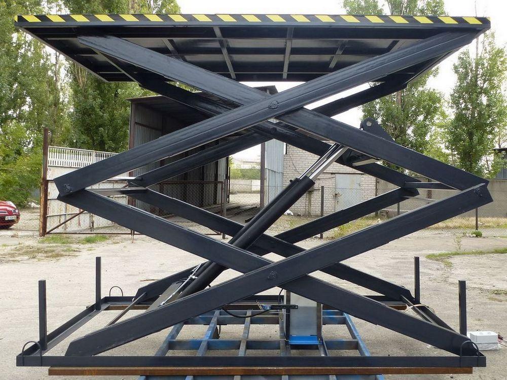 Изображение межэтажного гидравлического подъемного стола