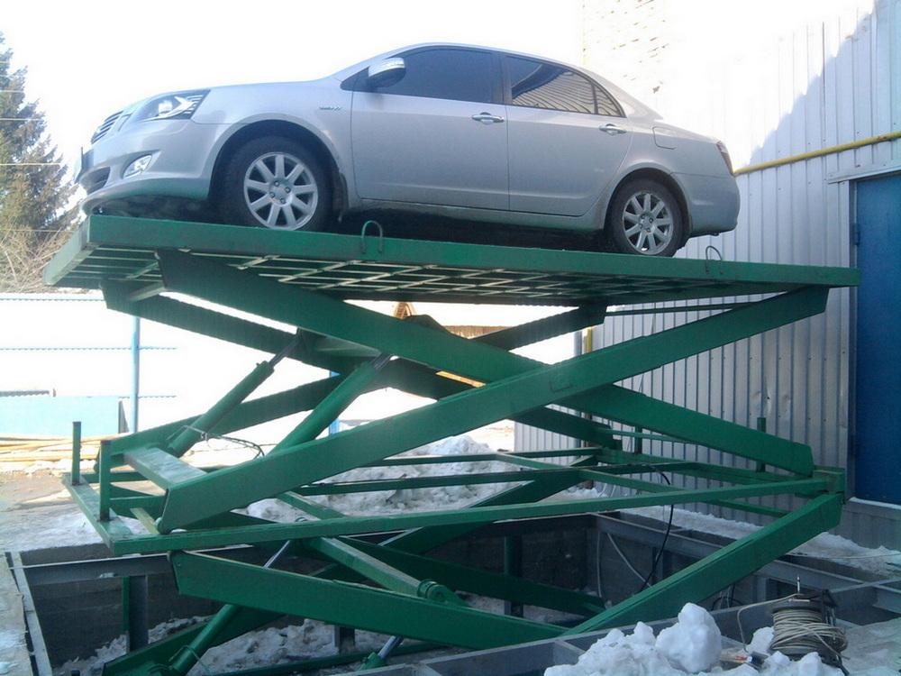 междуэтажный подъемник для автомобиля