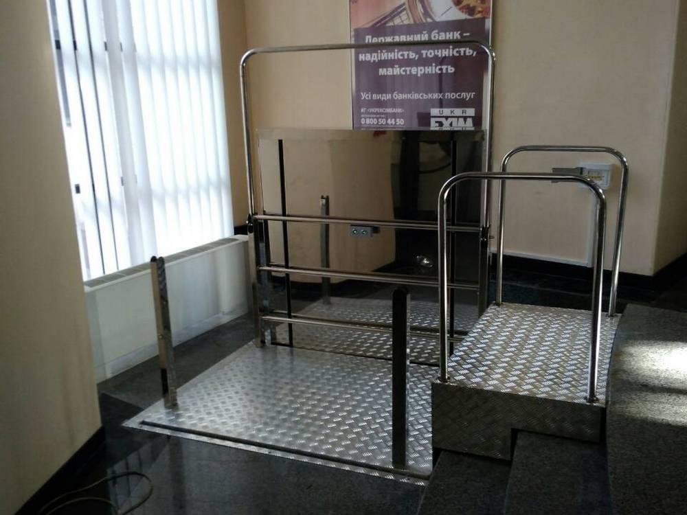 Изображение вертикального инвалидного подъемника№3