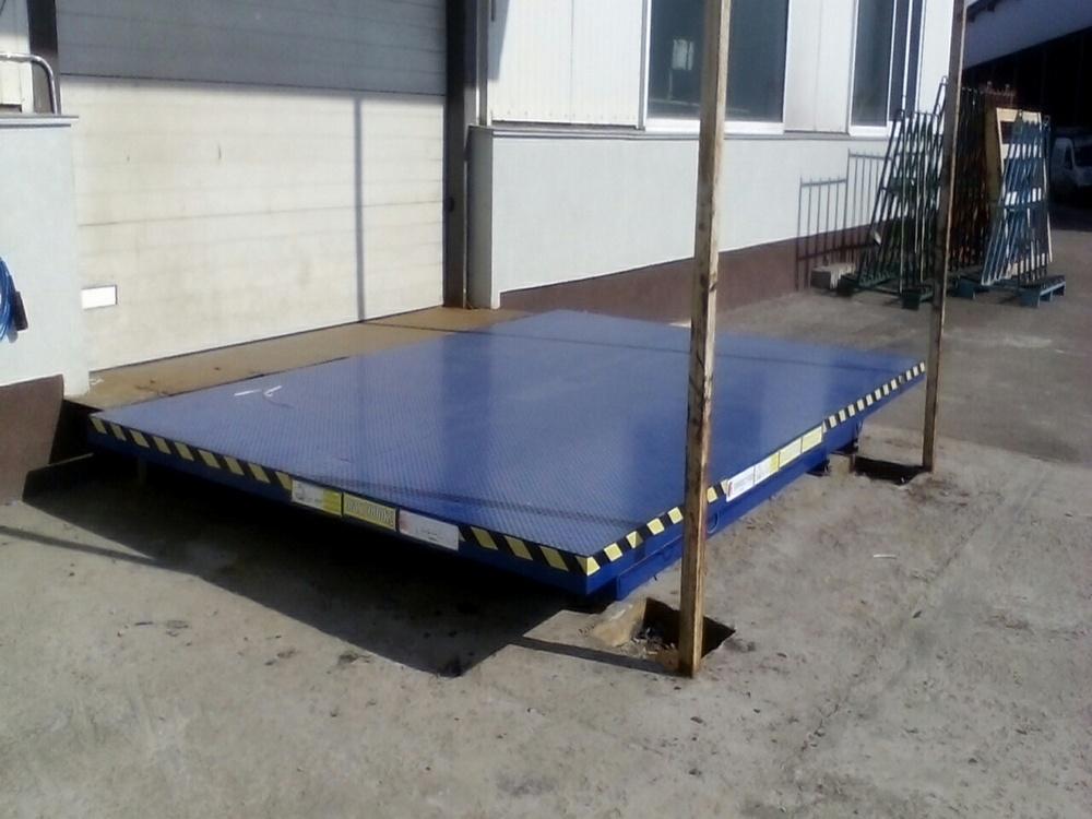 Изображение гидравлического подъемного стола для габаритных грузов№3