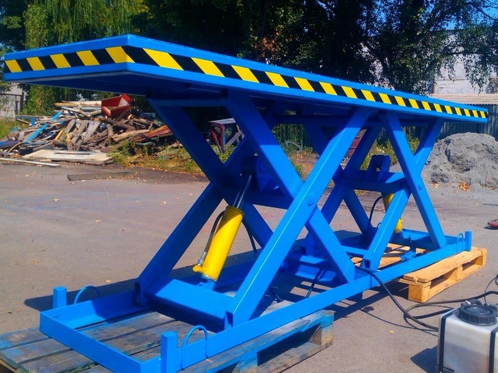 Изображение гидравлического подъемного стола для габаритных грузов№2