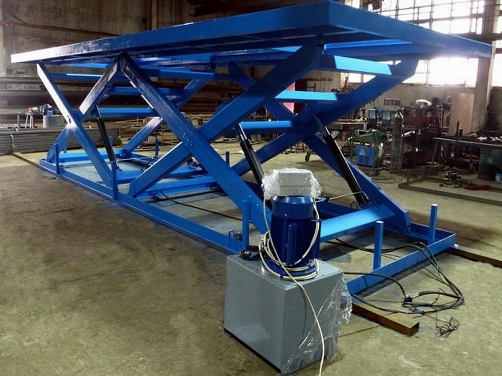 Изображение гидравлического подъемного стола для габаритных грузов№1