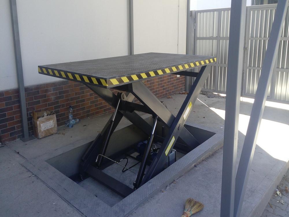Изображение гидравлического подъемного стола №4