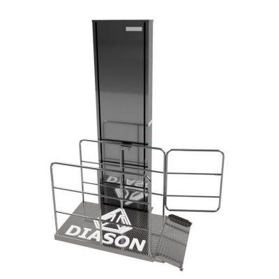 Подъемник вертикальный для инвалидов