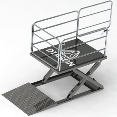 Low profile lifting tables
