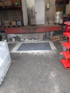 Изображение реализованного проекта по гидравлическому подъемному столу №2