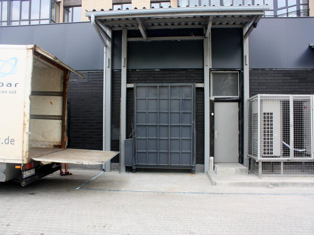 Изображение реализованного проекта по консольной перегрузочной площадке №6