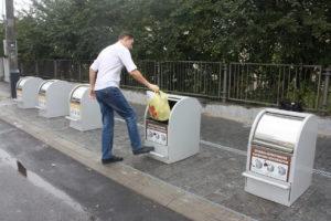 Изображение реализованного проекта по подземным мусорным контейнерам №3