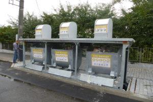 Изображение реализованного проекта по подземным мусорным контейнерам №4