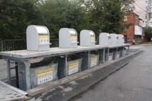 Изображение реализованного проекта по подземным мусорным контейнерам №5