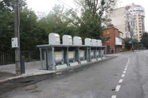 Изображение реализованного проекта по подземным мусорным контейнерам №7