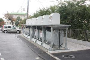 Изображение реализованного проекта по подземным мусорным контейнерам №8