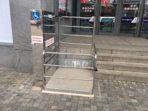 Изображение реализованного проекта по вертикальному инвалидному подъемнику №8