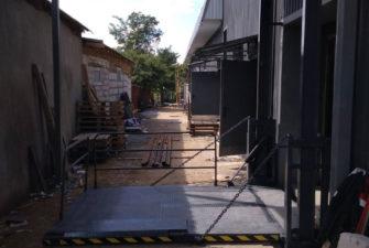 Изображение реализованного проекта по консольной перегрузочной площадке №13