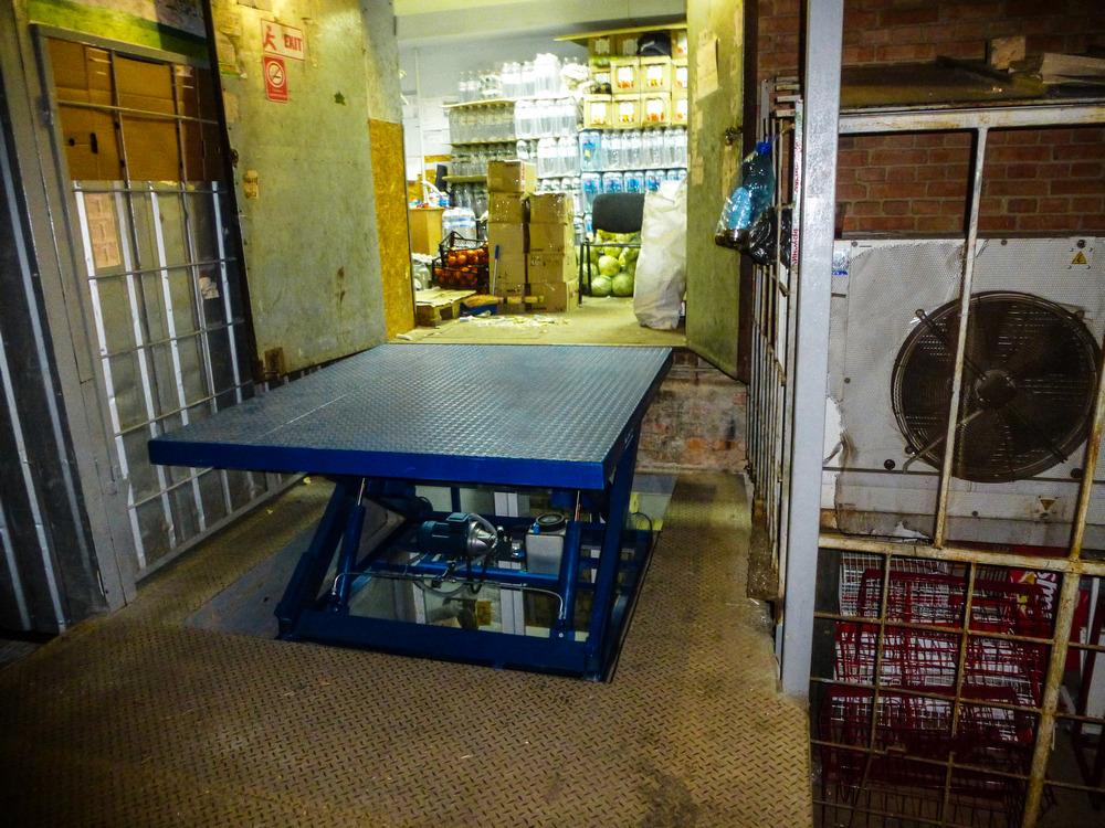Изображение гидравлического подъемного стола №27