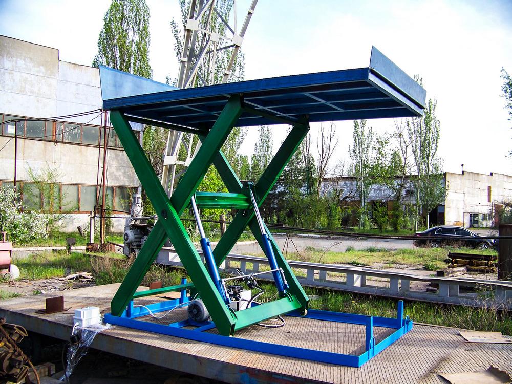 Изображение гидравлического подъемного стола №8