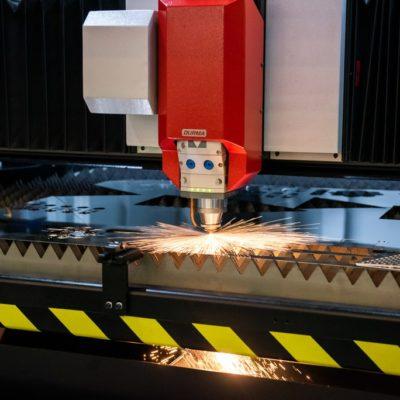 Laser metal cutting