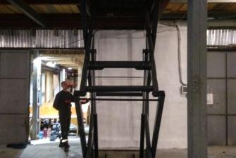 Изображение межэтажного гидравлического подъемного стола №13