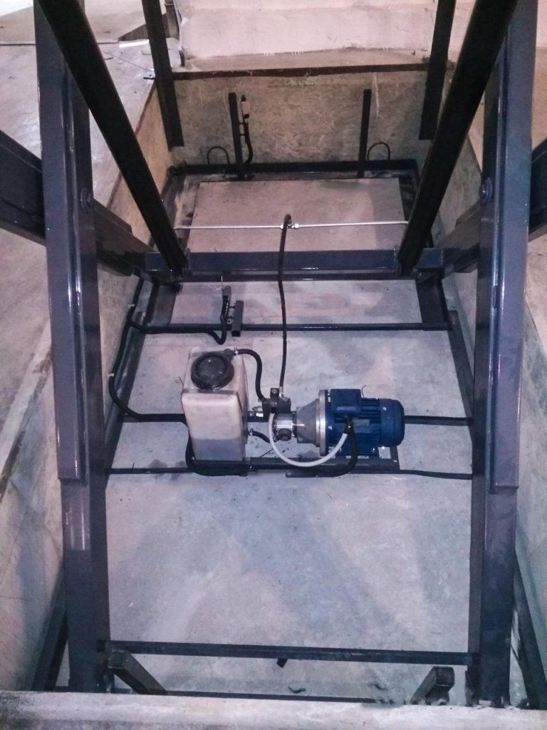 Изображение межэтажного гидравлического подъемного стола №14