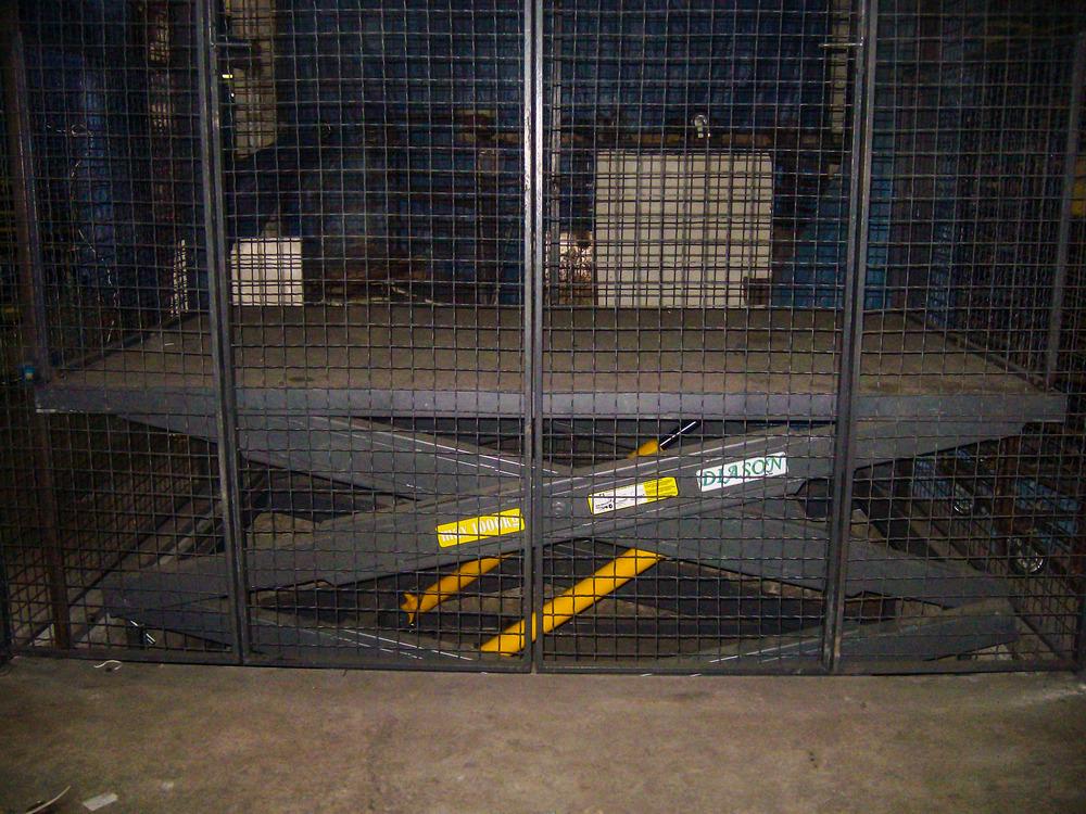 Изображение межэтажного гидравлического подъемного стола №6