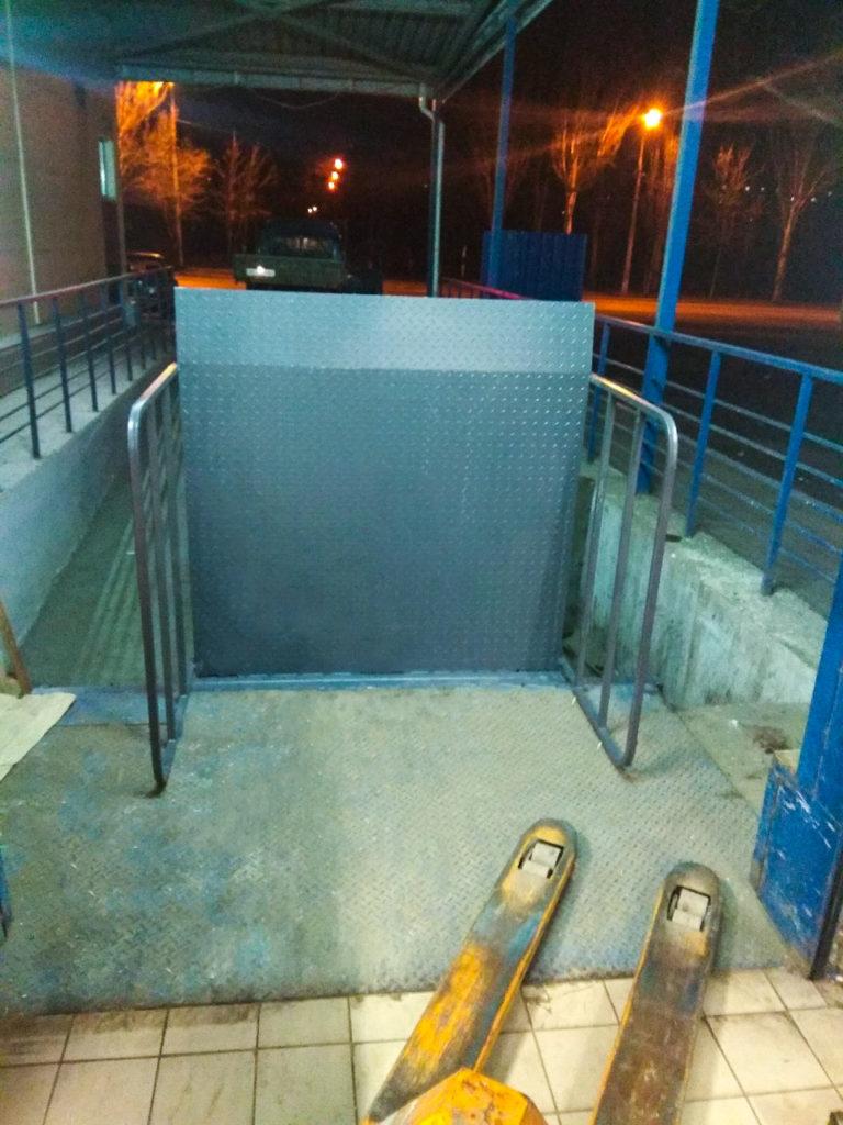 Изображение реализованного проекта по перегрузочному мосту №14