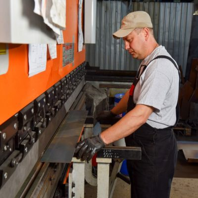 CNC metal cutting and bending