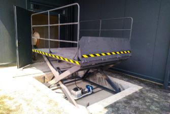 Изображение реализованного проекта по гидравлическому подъемному столу №17