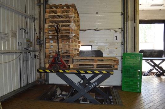 подъемный стол первый производство Diason для компании Квитень