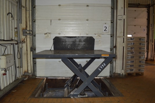 подъемный стол второй производство Diason для компании Квитень