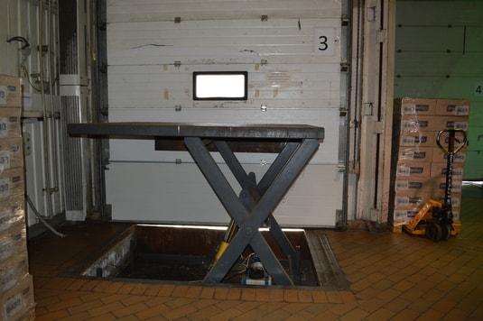 подъемный стол третий производство Diason для компании Квитень
