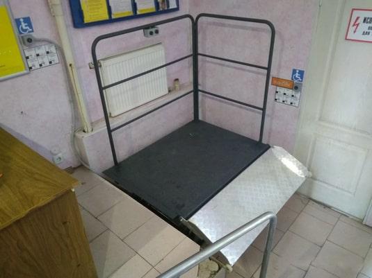 Проект по ножничному инвалидному подъемнику 7