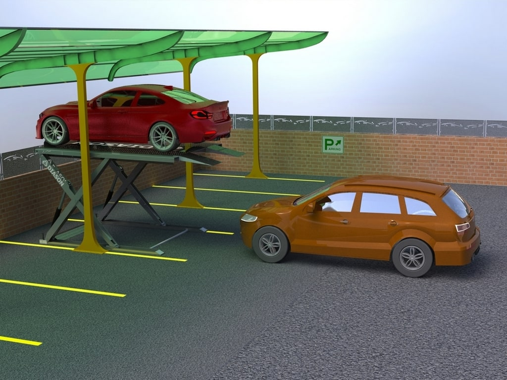 парковочный подъемник купить