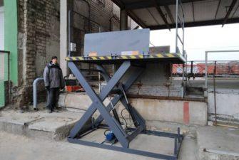 Изображение реализованного проекта по гидравлическому подъемному столу №23
