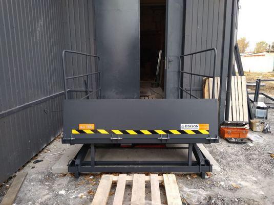 Изображение реализованного проекта по гидравлическому подъемному столу №25