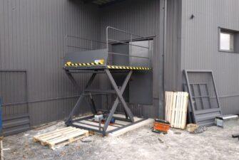 Изображение реализованного проекта по гидравлическому подъемному столу №27