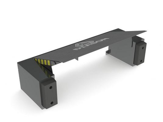 механическая уравнительная платформа поднятая