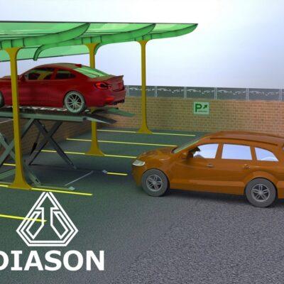 Подъемник парковочный