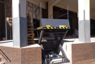 Изображение реализованного проекта по гидравлическому подъемному столу №33