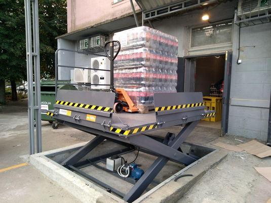 подъемный стол для магазина траш в борисполе вид1