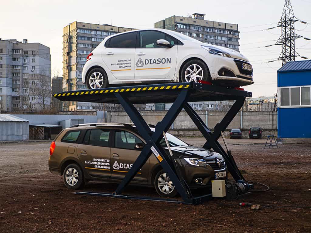 украина подъемник парковочный
