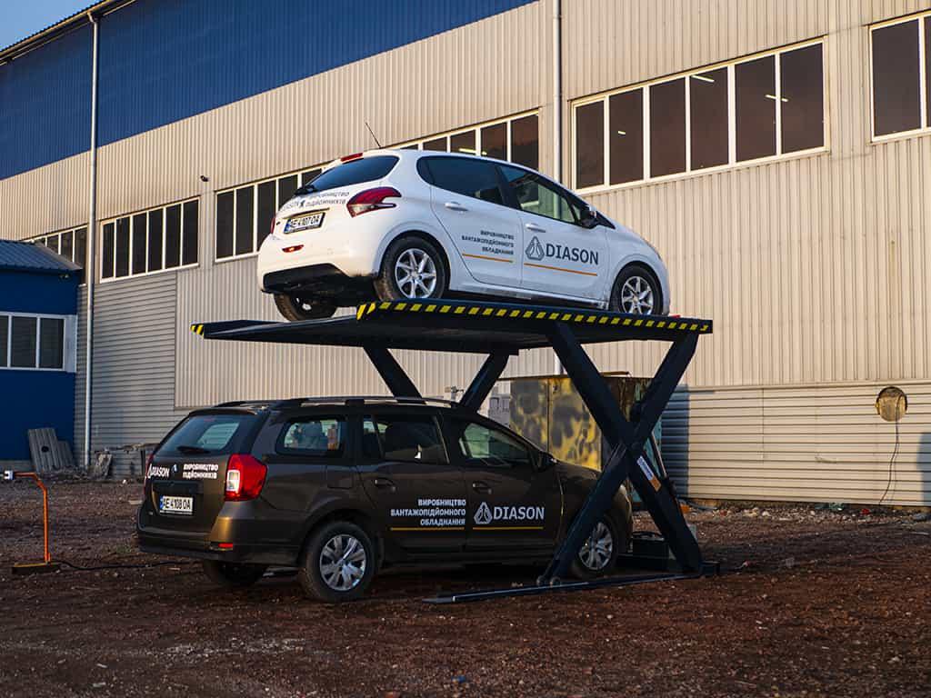 производство парковочного подъемника