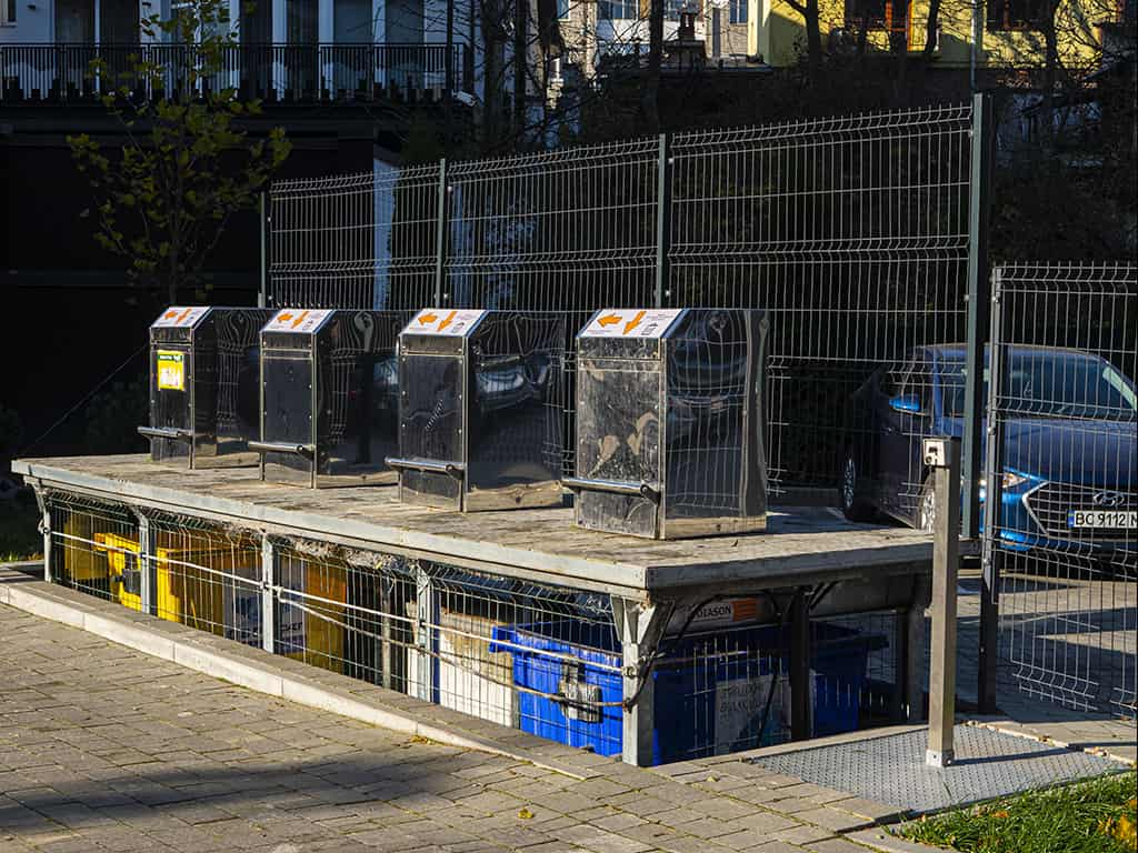 подземные контейнеры для мусора