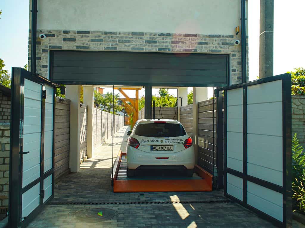 подъемник для парковки