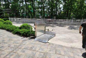 проект наклонного инвалидного подъемника в гостиницу киев1